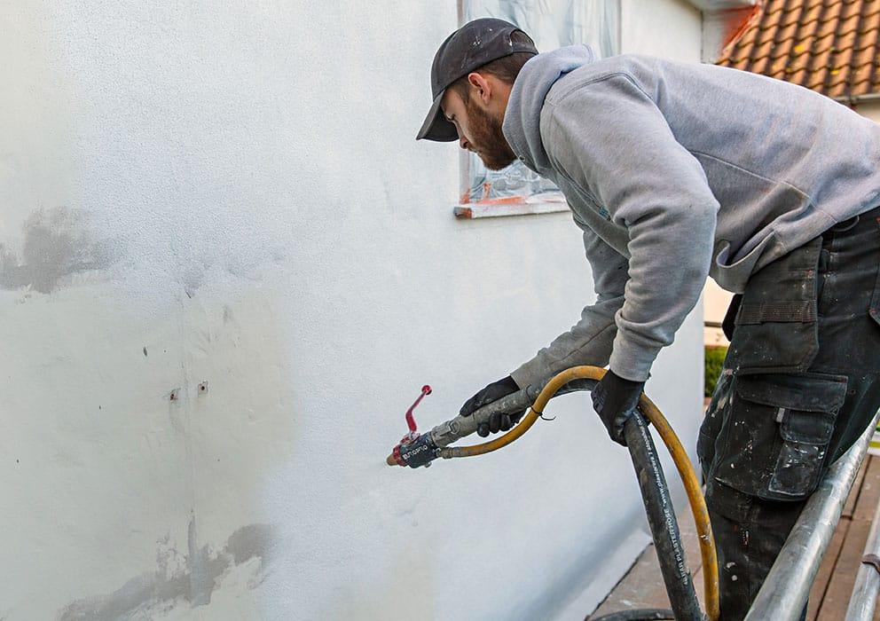 Corksol Cracked Render Repairs