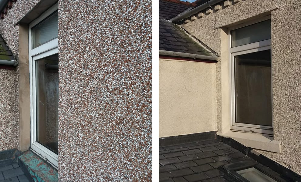 Render, Replace or Paint? Solutions for Pebbledash Covered Houses